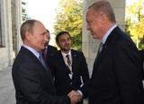 Путин встретился с Эрдоганом в Сочи