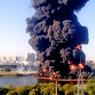 Не приходя в сознание скончался пострадавший при пожаре на Москве-реке