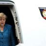 Ангела Меркель приземлилась во Внуково-2