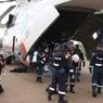 МЧС РФ опубликовало видео с места крушения ИЛ-76 в Иркутской области (ВИДЕО)