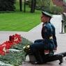 Клуб офицеров Представительства РТ возложил цветы к Могиле Неизвестного солдата