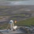 Илон Маск показал видео испытаний прототипа межпланетного корабля