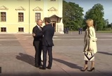 В Санкт-Петербурге состоялась встреча Владимира Путина и Эммануэля Макрона