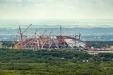 На стадионе в Самаре к ЧМ-2018 произошло обрушение конструкций