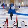 Песков оценил исполнение российского гимна оркестрами в Абу-Даби и Эр-Рияде