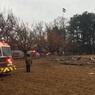 В США легкомоторный самолёт упал на футбольное поле, есть жертвы