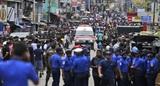 На Шри-Ланке прогремели восемь взрывов