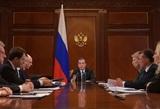 """Медведев поручил проработать ответ на санкции США против """"Северного потока - 2"""""""