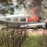 Самолёт упал на жилой дом в США