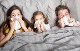Семьи с маленькими детьми чаще болеют гриппом