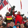 Биатлон: Первая гонка чемпионата мира превратилась для России в тренировку