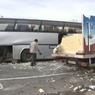 Мороженщик протаранил экскурсионный автобус на МКАД