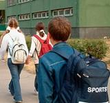 Московские школьники возвращаются к учёбе