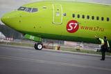 Самолёт задымился перед вылетом в аэропорту Москвы