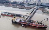 Американский корабль врезался в причал одесского порта