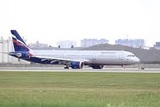 Во время посадки в Томске в двигатель самолёта попала птица