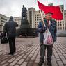 Почему украинцы отрезали Ленину голову и бегут в Европу? (ФОТО)