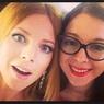 Беременные Наталья Подольская с сестрой-близняшкой отметили 33-летие (ФОТО)