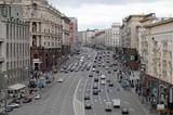 В Москве протестующие частично перекрыли движение транспорта по Тверской улице