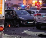 В немецком Лимбурге грузовик протаранил автомобили, власти признали это терактом