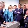 СМИ рассказали, как Трамп швырнул в Меркель конфетами на саммите G7
