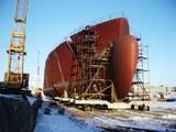 В Приморье судно тлело час, стоя на ремонтном заводе