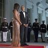 Платье Мишель Обамы поразило гостей прощального обеда президента