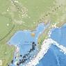 В Охотском море зарегистрировано землетрясение магнитудой 5,0