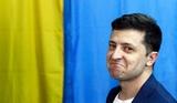 Согласно Exit poll, Зеленский побеждает во втором туре выборов президента Украины