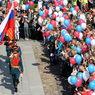 9 мая в небо Москвы запустят почти две тысячи шаров