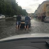 В Тамбове из-за ливней небывалый паводок