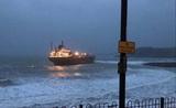 Российское судно село на мель у берегов Великобритании