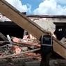 СК показал видео с места обрушения ТЦ в Кировской области