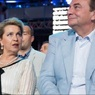 Светлана Медведева станцевала на концерте Андрея Данилко