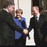Мир увидел рукопожатие Путина и Порошенко