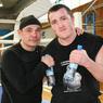 Денису Лебедеву привезли чемпионский пояс WBA