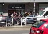 В Берлине произошло нападение на торговый центр
