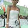Платье со следом от поцелуя Жанны Фриске отдано на благотворительный аукцион