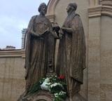 Памятник муромским святым - супругам Петру и Февронии появился в Казани