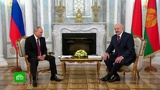 Глава Белоруссии поздравил Путина с 66-летием