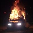 В центре Киева взорвался автомобиль, есть пострадавшие