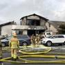 Пять человек погибло при падении самолёта на жилой район в Калифорнии