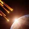 Кемеровчанин показал фото падения «хвостатого» НЛО