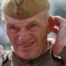 По брусчатке на Красной площади в День воинской славы России прошел марш