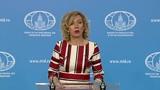 """Захарова прокомментировала обращение """"Би-Би-Си"""" в МИД РФ из-за утечки данных"""