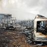 Пожар на северо-востоке Москвы потушен