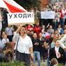 На площади Независимости в Минске собрались сотни тысяч человек