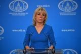 Мария Захарова озвучила оценку авиаударам по Сирии со стороны США и союзников
