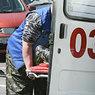 При аварии беременная вылетела из салона скорой помощи (ВИДЕО)