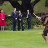 Герцогиня Кембриджская сражена татуированным задом Короля маори